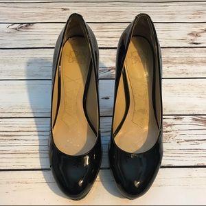 Joan & David Shoes - Joan & David Heel Black Patent Sexy Shiny Shoes