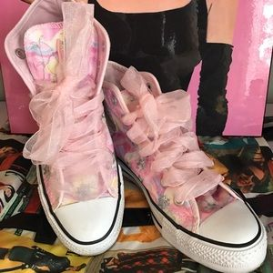 Converse Shoes - CONVERSE Pink FairyTale Women's High Tops