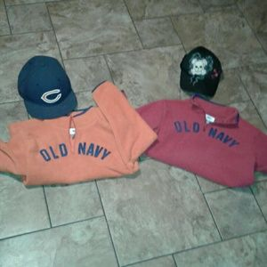 Other - Boys- 2 sweaters & 2 hats