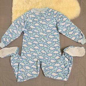 Circo Other - Girls fleece pajama onesie