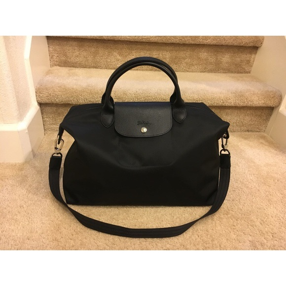 25ec8fdd5288 Authentic Longchamp Le Pliage Neo Travel Handbag