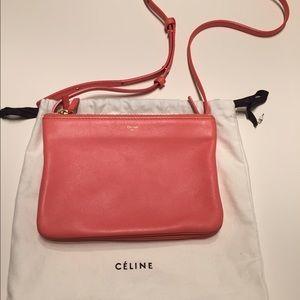 Celine Handbags - Celine trio crossbody