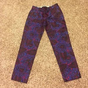 J. Crew Pants - Stunning J Crew Printed Pants