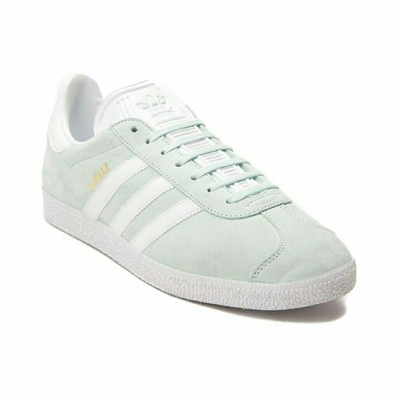official photos 09f91 0a112 Womens adidas Gazelle Athletic Shoe Mint White