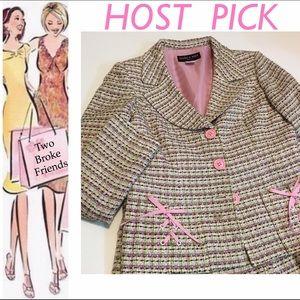 Isabel & Nina Other - Isabel & Nina, pink tweed suit, size 11 juniors!