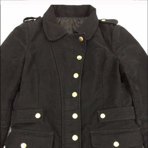 Black Military Coat - gorgeous design