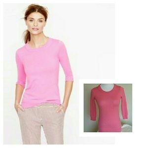 J. Crew Sweaters - J.Crew Merino Wool Pink Tippi Sweater