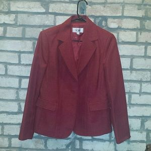 Le Suit Jackets & Blazers - Red suit jacket with 3 buttons