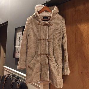 Zara Knit Tan Sweater US Medium