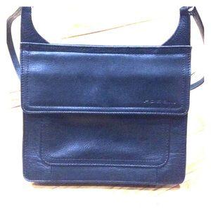 Fossil Handbags - Fossil black leather organizer purse cute
