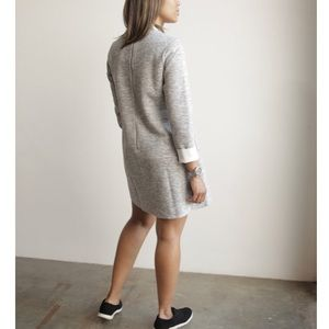 English Factory Dresses & Skirts - English Factory Grey Mock Neck Dress