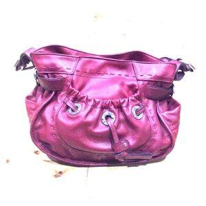 b. makowsky Handbags - B. Makowsky red leather hobo excellent awesome