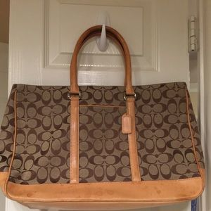 Signature collection Coach briefcase / laptop bag