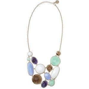 Stella & Dot Oasis Bib Necklace