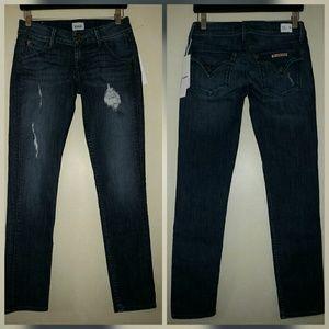 Hudson Jeans Denim - Hudson Collin Skinny Jeans Ankle