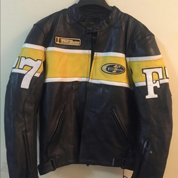 19625b235 Leather Motorcycle Jacket, with Body Armor Boutique