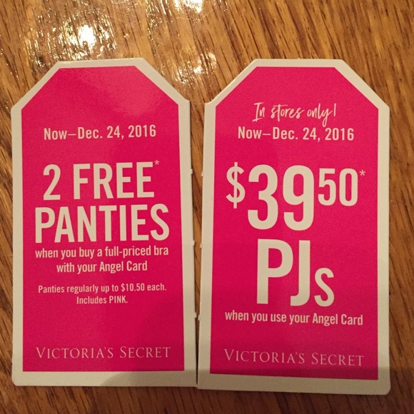 Vs pink coupons 2019