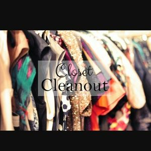 Other - CLEAN OUT CLOSET!