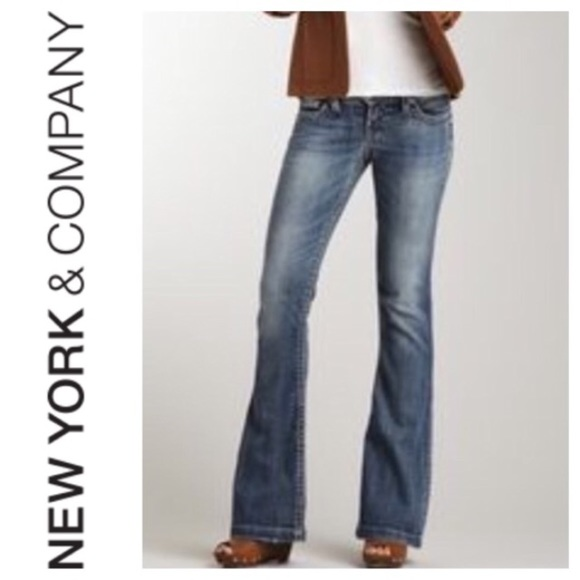 96% off New York & Company Denim - Sexy Flare Jeans Size 18 from ...