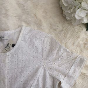 Madewell Other - {Madewell} NWT Eyelet Short Romper (2)