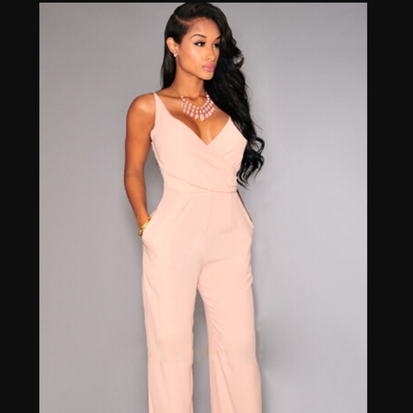 Forever 21 - Blush pink jumpsuit from !! alicia's closet on Poshmark