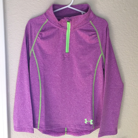 6f889db7f Under Armour Shirts & Tops | Girls 4t 34 Zip New With Tags | Poshmark
