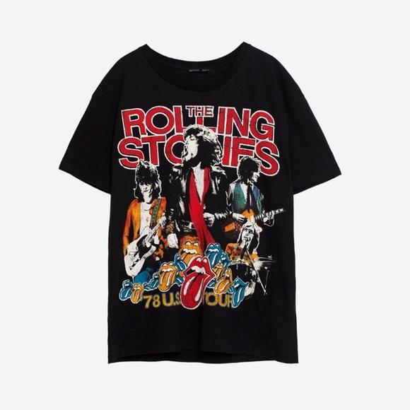 Zara Rolling Stones t-shirt