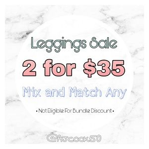 🔴Leggings Sale! 2 for $35🔴
