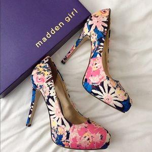 Madden Girl Shoes - Madden Girl Holliss Blue Flow pumps