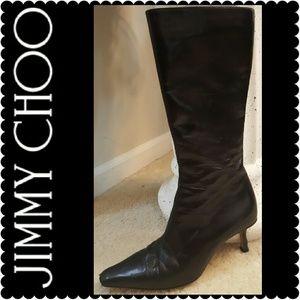 Jimmy Choo Shoes - Jimmy Choo London Leather Boots