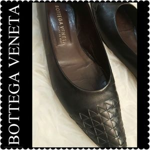 Bottega Veneta Shoes - Bottega Veneta Leather Flats