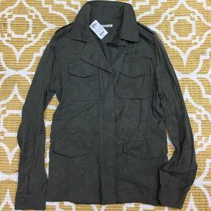 NWT Large Dark Sage/Army Green Light Jacket