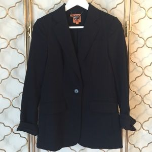 Tory Burch Black Boyfriend Blazer