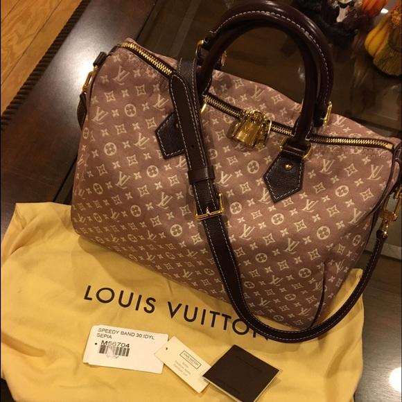 6330570db9b1 Louis Vuitton Handbags - Louis Vuitton Speedy 30 bandouliere idylle SEPIA