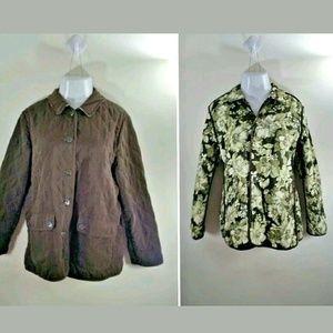 Susan Graver Jackets & Blazers - Susan Graver Reversible Quilted Jacket Size Large