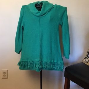 Pure hand knit sweater size l/xl