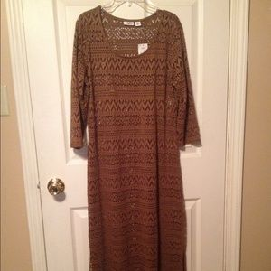 Cato Dresses & Skirts - Cato new w/tags dress/cover up