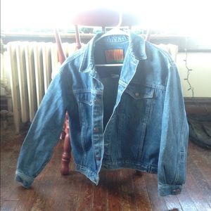 Vintage Calvin Jean Jacket!