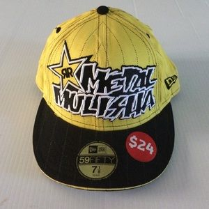 New Era Other - Metal Mulisha Rockstar baseball hat