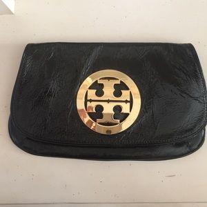 Authentic Tori Burch Patent Leather Clutch