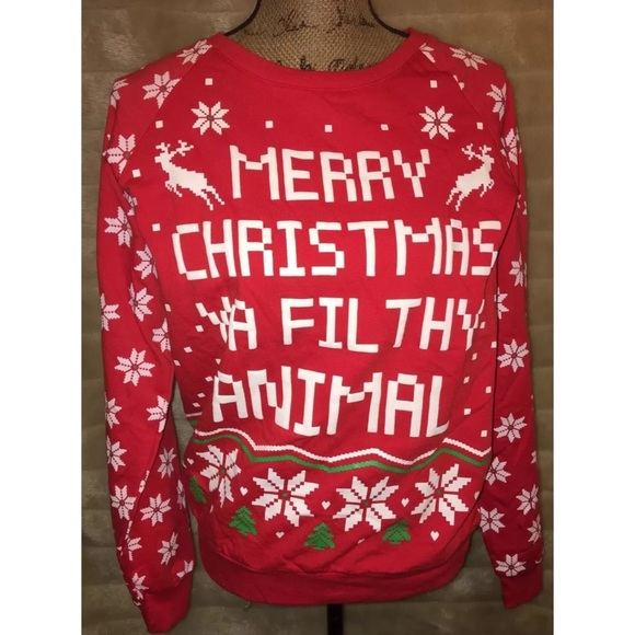 PINK Victoria's Secret - Women's | Juniors Ugly Christmas Sweater ...