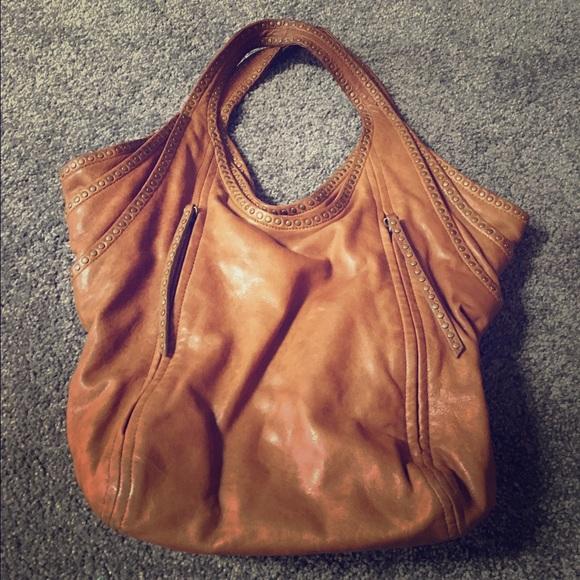 d57764518679 Kooba Handbags - Kooba cognac leather slouchy bucket bag