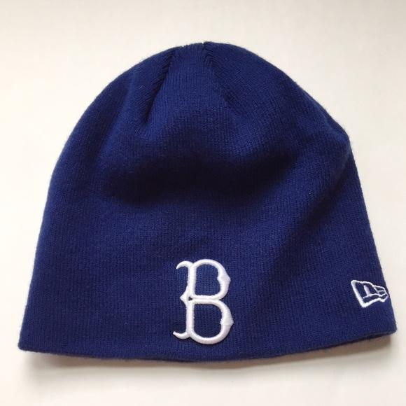 0dad6daf184 Brooklyn Dodgers New Era Cooperstown Winter Beanie.  M 583afe37f0137daa430c0edf
