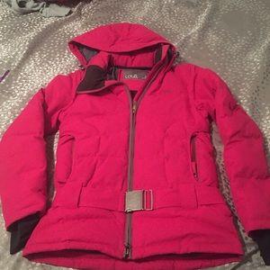 Lole Jackets & Blazers - Womens Lole Puffer Jacket with Belt