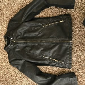 Express leather jacket