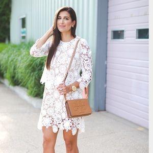 chicwish Dresses & Skirts - ✨HP✨ White lace mini dress