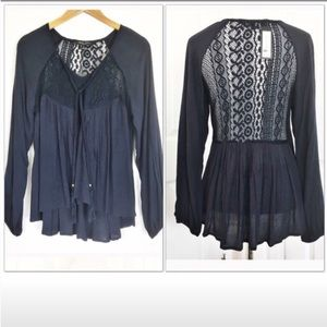 Romeo & Juliet Couture Peasant Top