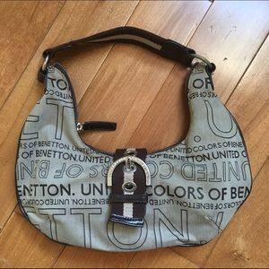 United Colors Of Benetton Handbags - United Colors of Benetton Brown Shoulder Bag