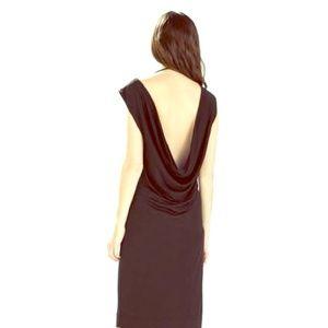 Zara Dresses & Skirts - SALE-Zara Black Dress with Drape Back - Beautiful
