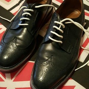 Florsheim Other - Florsheim Navy Blue Wingtips